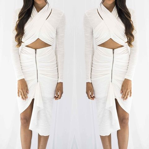 Elevate,2,Piece,set,2 piece set peppermayo wrap crop zip skirt white set winter dress autumn fashion boutique perth shop ootd