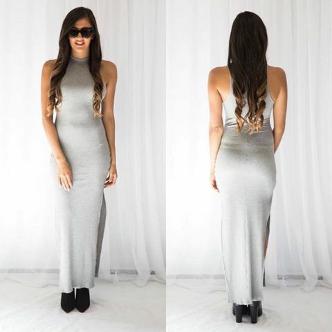 Truth,OR,dare,Maxi,-,Grey,maxi sabo skirt khaki army green high neck perth fashion winter autumn