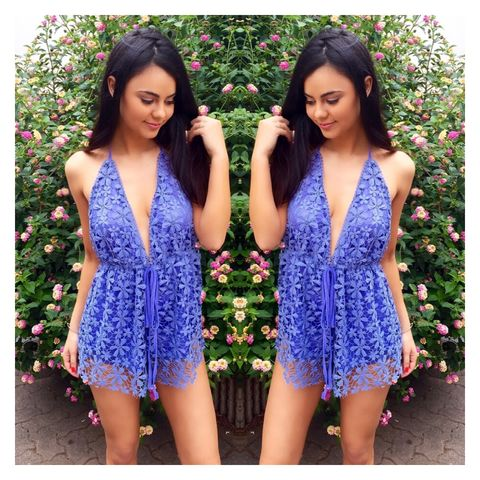 Daisy,Dreams,Playsuit,Crochet playsuit lilac blue purple beach boho