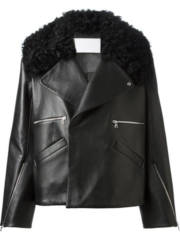BLK,TOSCANNA,LEATHER,JACKET,Jacket Leather Toscanna