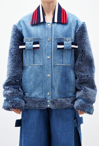 NEW,IN,STOCK,:,LILY,DENIM,JACKET, DENIM, JACKET, AW16, SKIRT