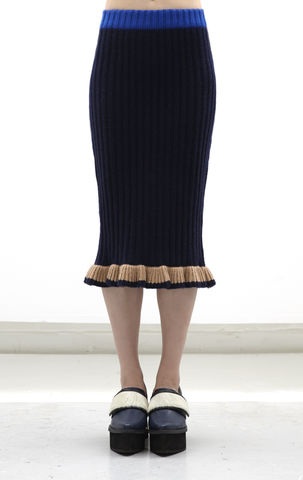 NEW,IN,STOCK,:LIN,CASHMERE,SKIRT,AW16, LIN, CASHMERE, JUMPER, Knitwear, Navy