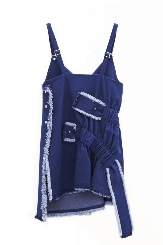IN STOCK - BOYOUN GATHER STRAP VEST - product image