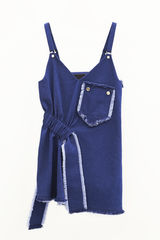 IN STOCK - BOYOUN GATHER STRAP VEST - product images 2 of 3