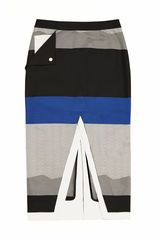 JS17SK02- CHESTER CONTRAST SKIRT - product images 3 of 4