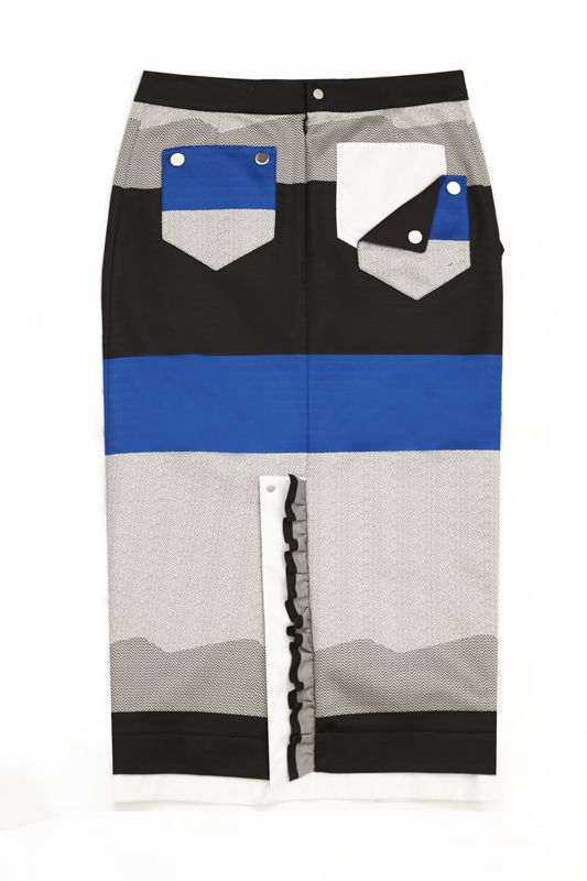 JS17SK02- CHESTER CONTRAST SKIRT - product image