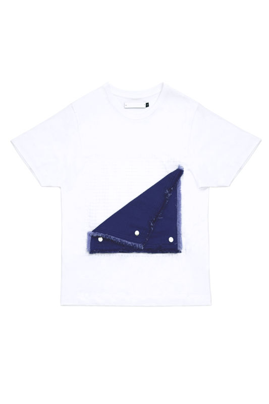 IN STOCK - FLIP DOWN CONTRAST T - product image