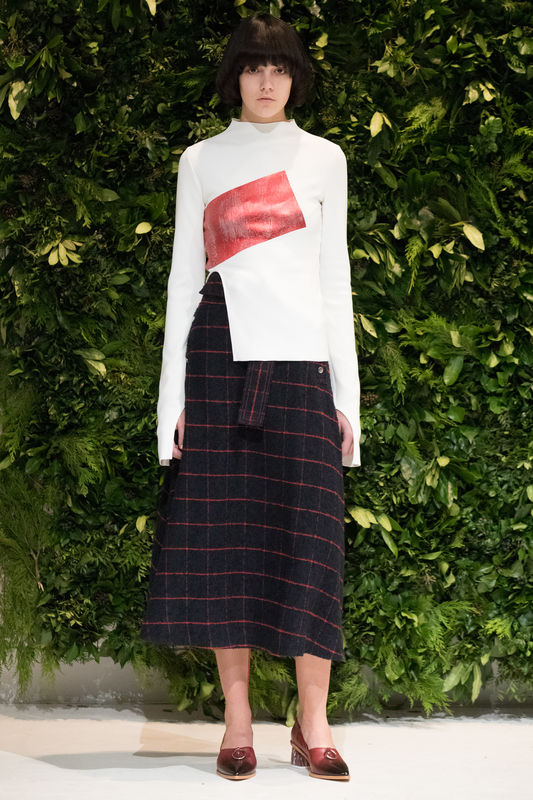 JW17SK02 - ALICE WOOL SKIRT - product image