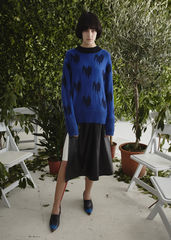 JW17KT01 - JACQUARD CASHMERE JUMPER - product images  of