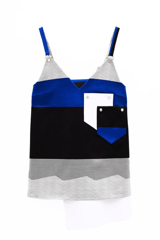 IN STOCK - CHESTER CONTRAST STRAP VEST - product image