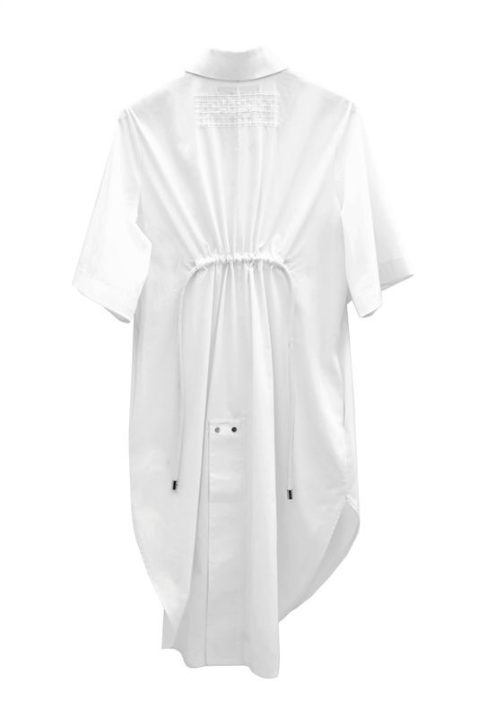 JS17D01- ALICE EMBROIDERY SHIRT DRESS - product image