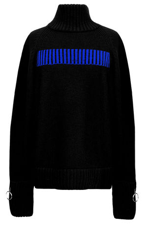 JW17KT03,-,CASHMERE,TURTLE,NECK,JUMPER,Jamie Wei Huang, AW17, Autumn Winter, Turtle Neck, Jumper, CASHMERE TURTLE NECK JUMPER, Black,  Cashmere, Knitwear