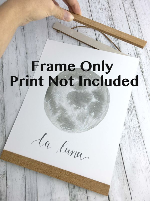Wood Magnetic Print Poster Frame - product images  of