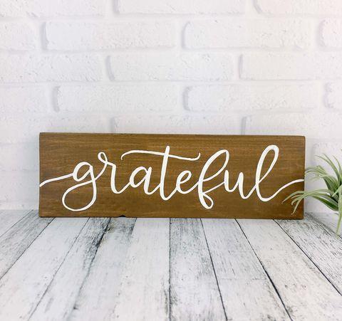 Grateful,Wood,Sign,,Hand,Painted,Thanksgiving,Rustic,Wooden,Decor,,Thankful,Fall,Quote,Sign,grateful sign, hand painted wood sign, rustic farmhouse decor, thanksgiving decor sign, fall decor