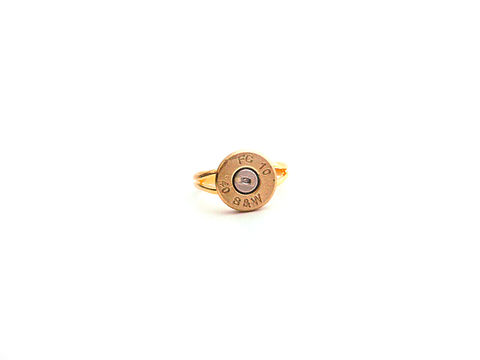 Smith,&,Wesson,Bullet,Ring,bullet, army, military, wife, gift, ring, smith and wesson, gold, hunter, female, police woman