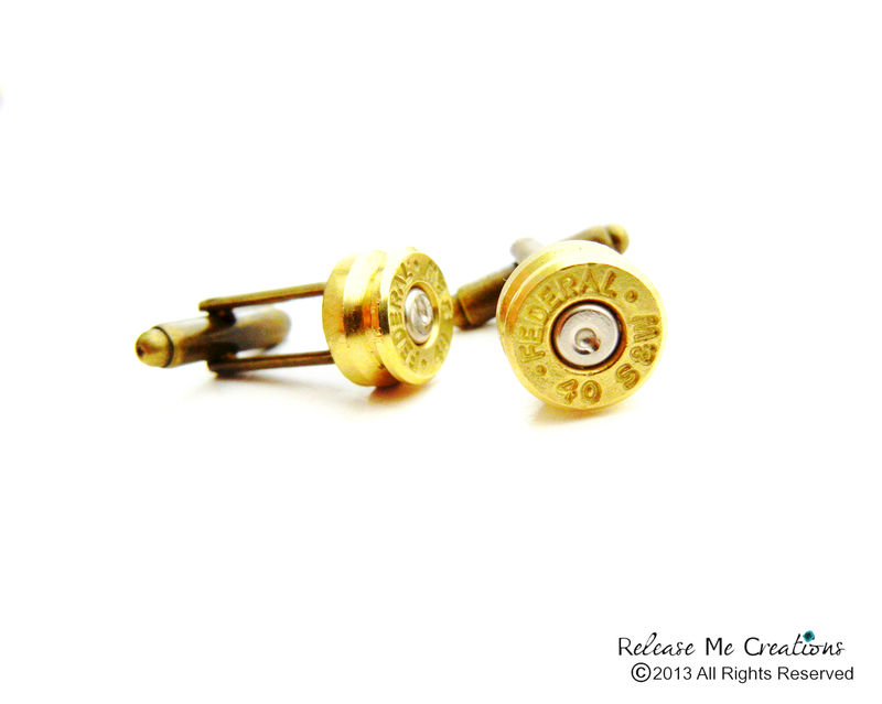 Smith and Wesson Bullet Cufflinks - product image