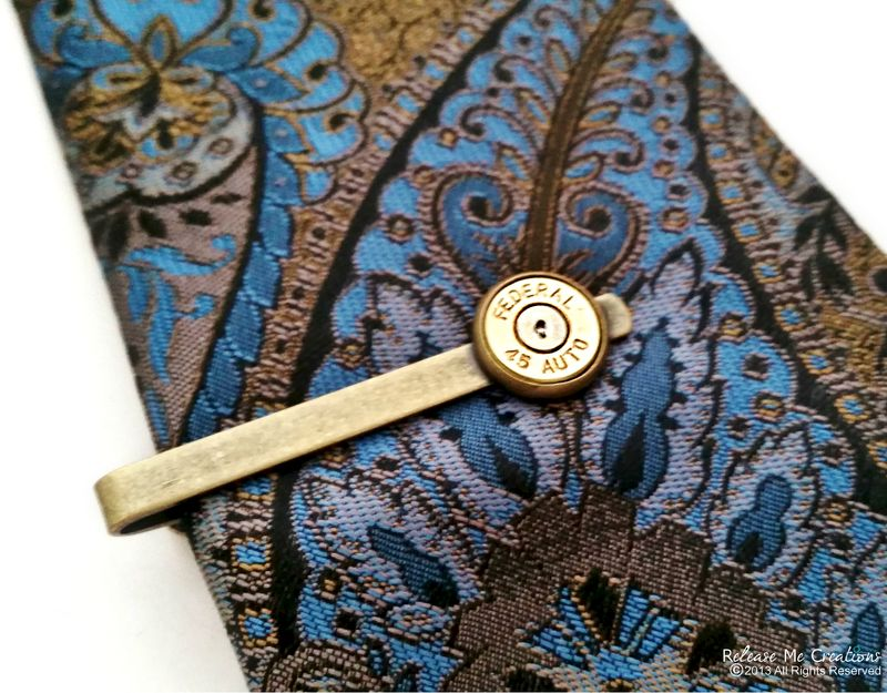 Bullet Tie Clip Tie Bar For Him - product image