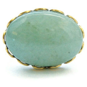 Petite,Romantic,Jade,Gold,Ring,ring, jade, gold, petite, romantic, for her, gift, theartisangroup, vintage
