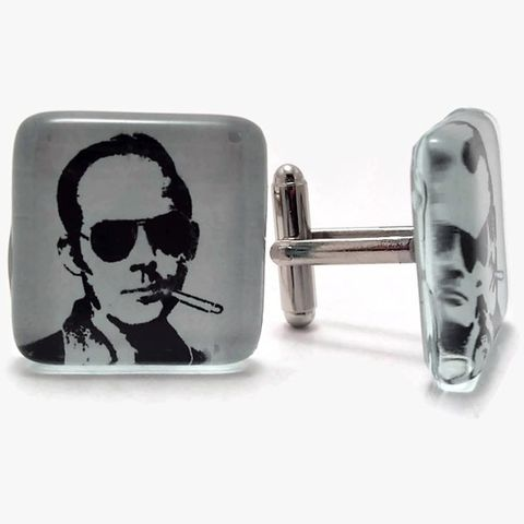 Hunter,S.,Thompson,Cuff,Links,For,Him,cuff link, cufflink, huntersthompson, gonzo, journalism, for him, accessories