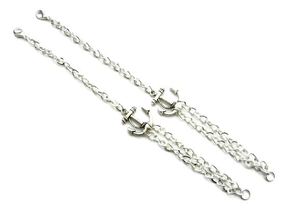 Personlized Anchor Bracelets Set for Two - product image