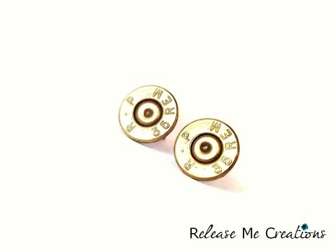 Remington,Rifle,Bullet,Post,Earrings,rifle jewelry, country, bridesmaid, bride, bullet jewelry, jewelry, earrings, posts, brass, edgy, hunters, gun, nra, for her, for him