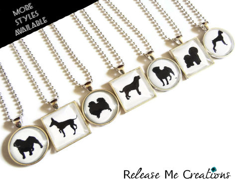 Customizable,Personalized,Dog,Silhouette,Necklace,Paws,in,the,City,Charity,Jewelry,releasemecreations, pawsinthecityrescue, rescuejewelry, charityjewelry, dog silhouette, dogjewelry, dog necklace, Chihuahua, Daschund, Retriever, Greyhound, Great Dane, Labrador, Corgi, Pitbull, Pomeranian, Scottish Terrier, Bulldog, Pinscher, Bloodhound