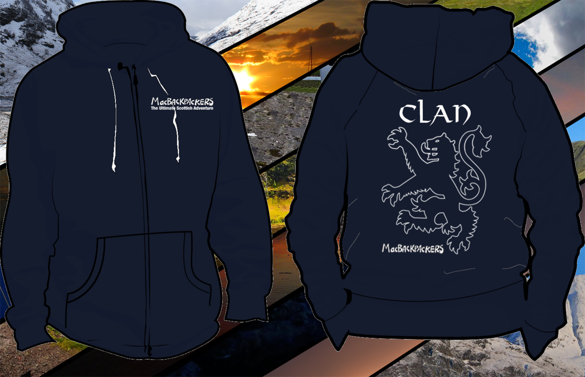Limited Edition - Clan MacBackpackers Premium Hoodie - product images  of