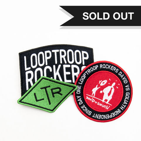 LTR,Patch,Set,(3pcs),Looptroop Rockers, Halos, Cosmic, Supreme, Promoe, Embee