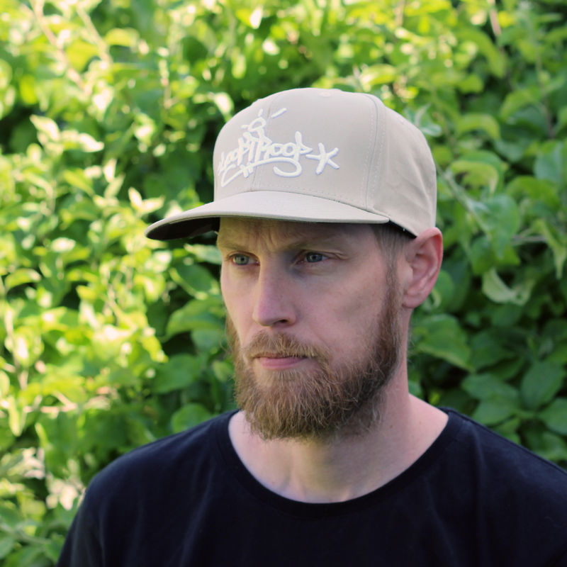 Looptroop Classic Logo Snapback (Sand) - product images  of