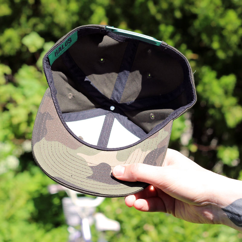 Looptroop Classic Logo Snapback (Forest Green) - product images  of
