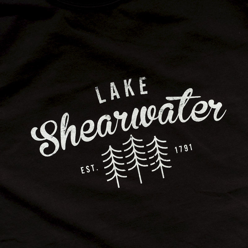 Lake Shearwater Men's 100% Organic T-shirt - product images  of