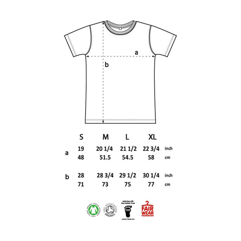 Lake Shearwater Men's 100% Organic T-shirt