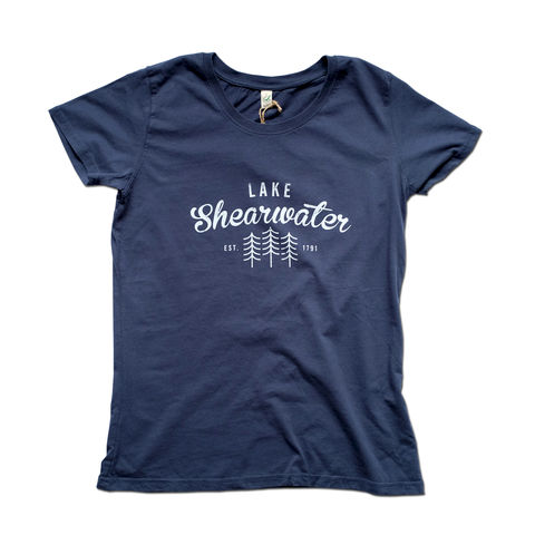 Lake,Shearwater,Womens,100%,Organic,T-shirt,Anthony Oram, Lake Shearwater t-shirt