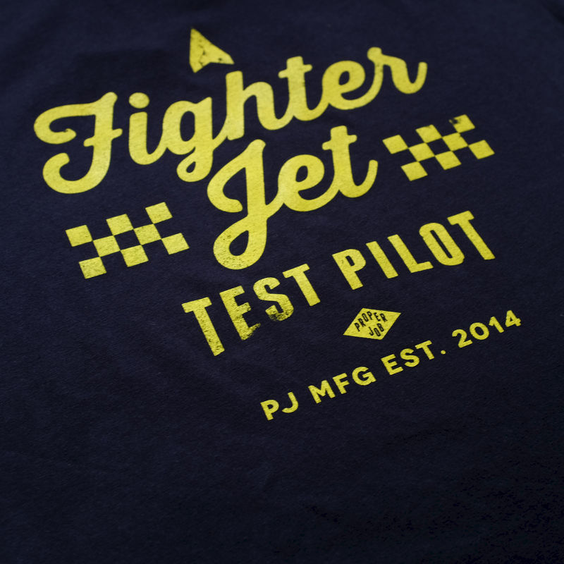 Proper Job - Fighter Pilot 100% Organic T-shirt - product images  of