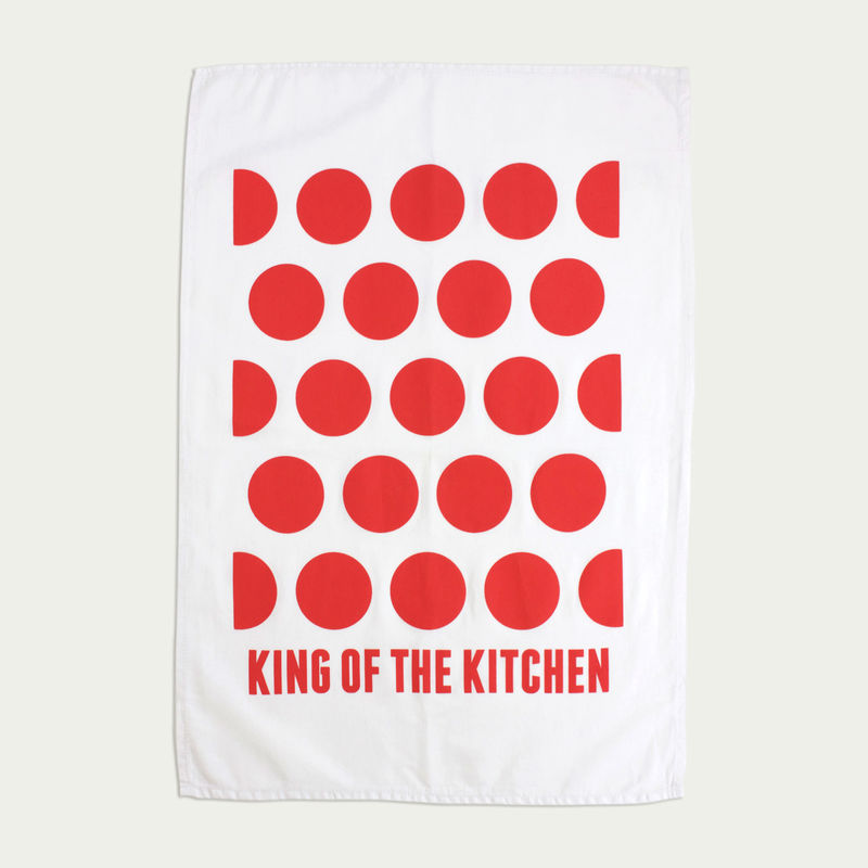 King of the Kitchen - Tea Towel - product images