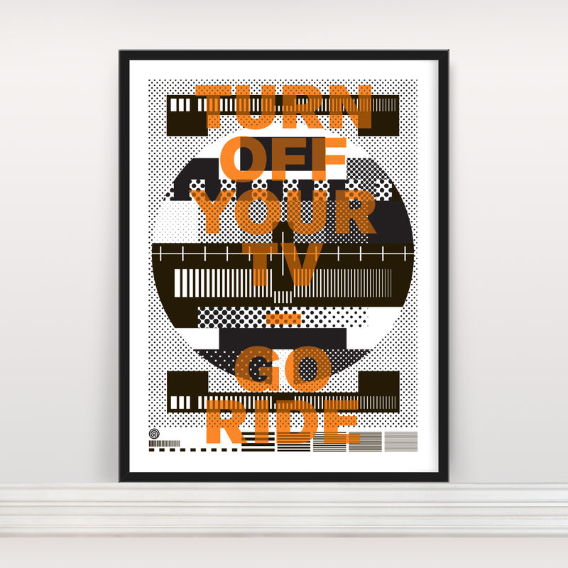 Go Ride - Screen Print - product images  of