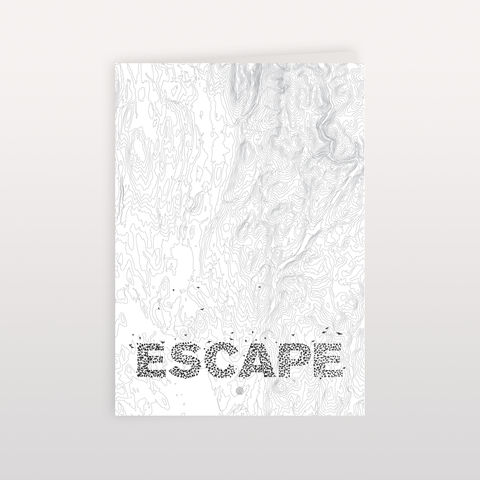 Escape,120x170mm,-,Greeting,Card, Greeting Card, Anthony Oram