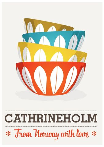 Cathrineholm,poster,printModern,print,midcentury,art,kitchen,-,From,Norway,with,Love,A2,Art,Print,cathrineholm,catherineholm,scandinavian,retro,mid_century,modern,modern_print,modern_poster,cathrineholm_poster,cathrineholm_print,paper