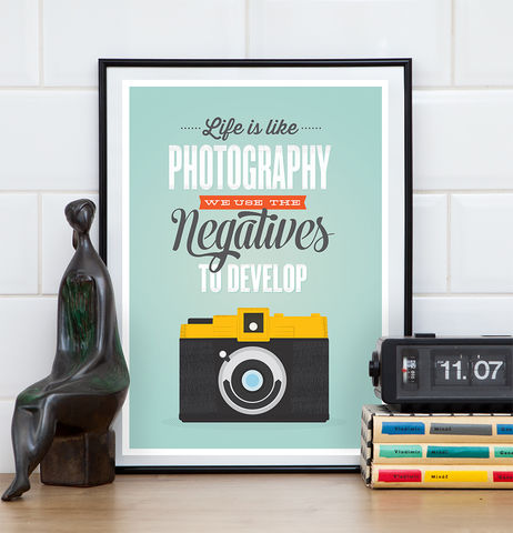 Inspirational,quote,retro,camera,poster,-,life,is,like,photography,inspirational quote, motivational print, retro camera, camera poster, quote print, life is like photography,  typography poster, colorful print, holga camera poster, lomography poster, inspiring quote print