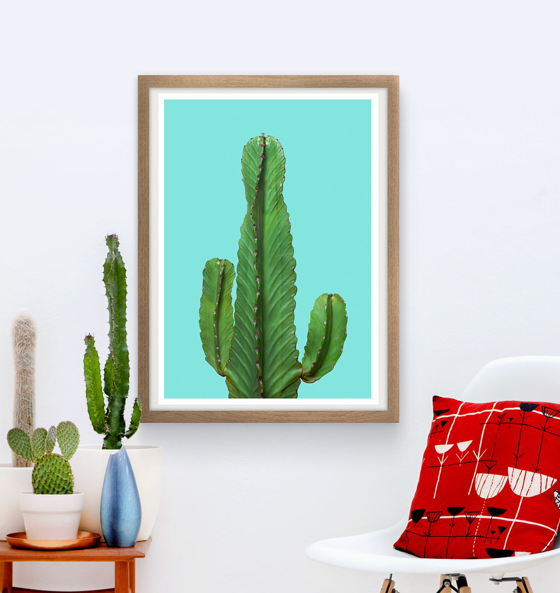 Cactus poster, Botanicalposter, Bohemian wall art - product images  of