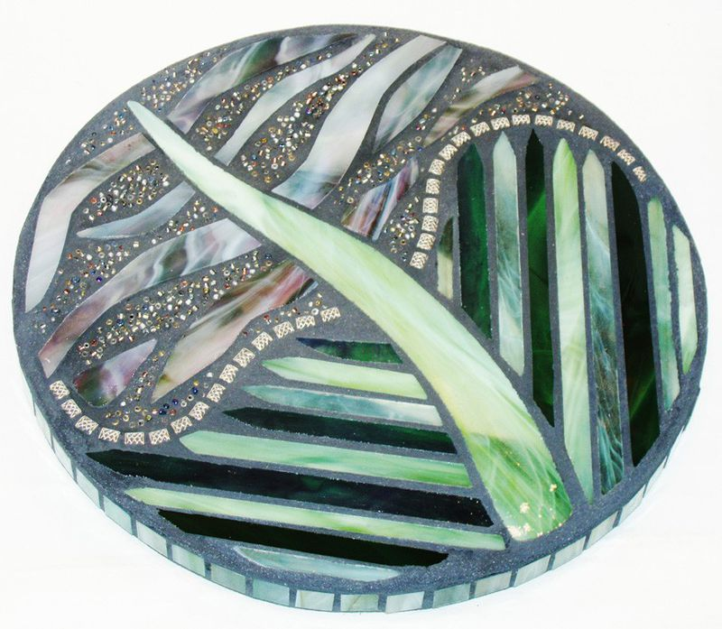 Mosaic Wall Art using mixed media OOAK by Mel Fischer - product images  of