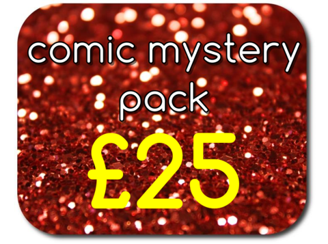 Comic,Mystery,Pack,-,£25