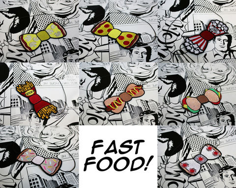 Fast,Food,Bow,Headband,Accessories,Hair,fastfood, bow, bowheadband
