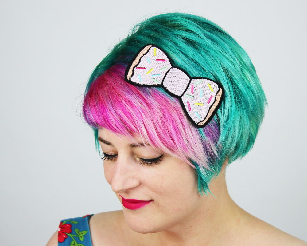 Donut Fast Food Bow Headband - product images  of