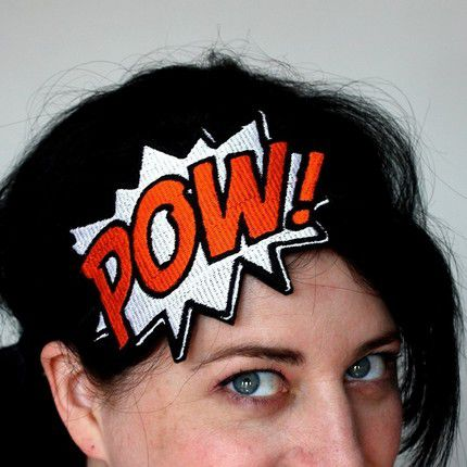 POW Comic Book Headband - product images  of