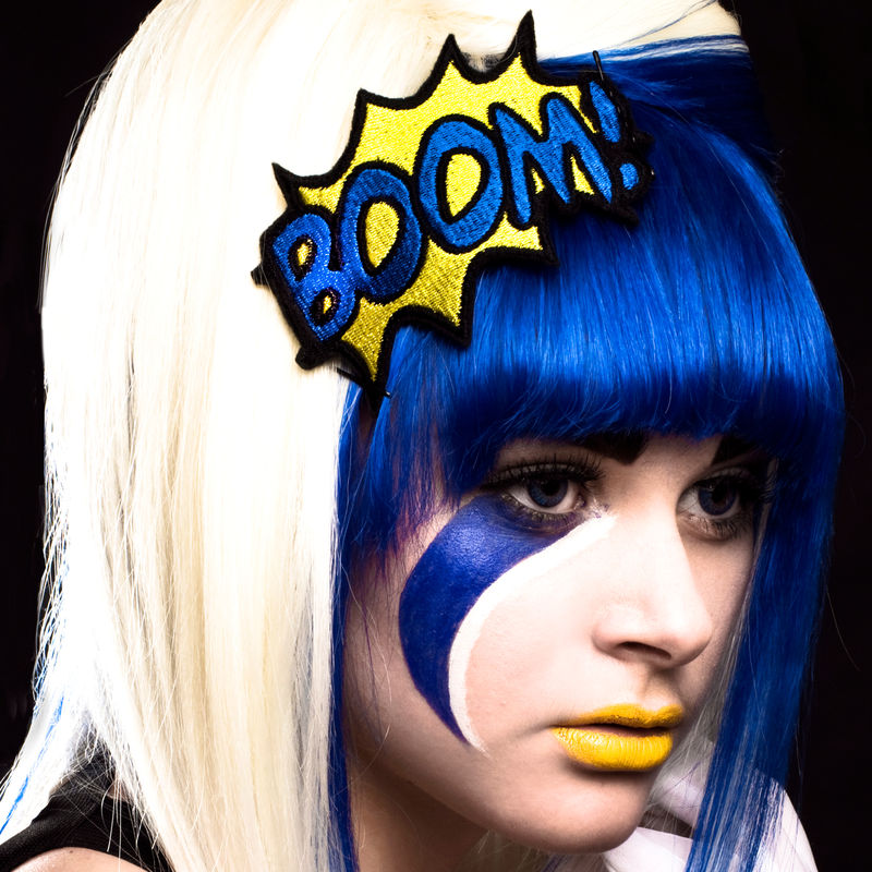 BOOM Comic Book Headband - product images  of