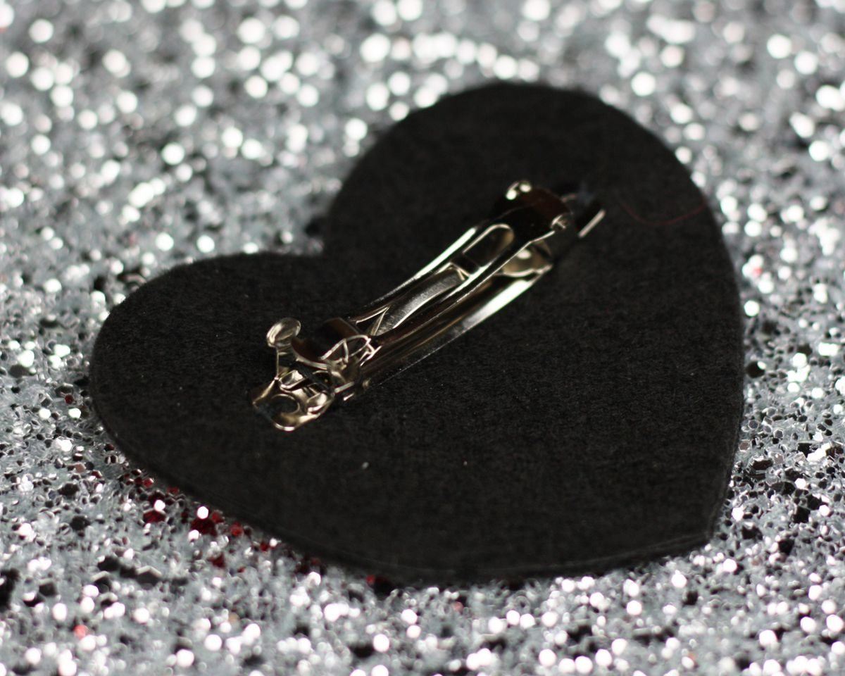 Broken Heart Hair Clip - product images  of