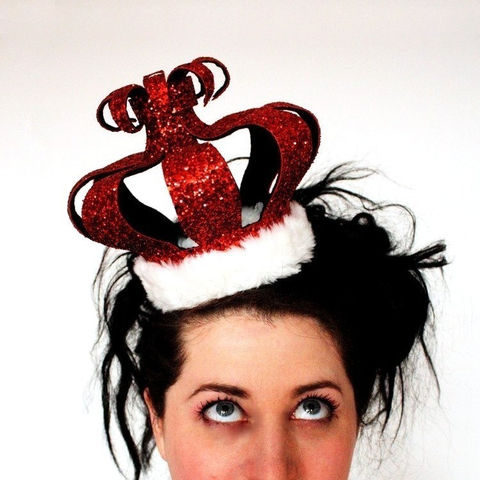 Burlesque,Queen,of,Hearts,crown,,Pick,your,colour,Accessories,Hat,alice_wonderland,queen_of_hearts,burlesque,crown,alternative_bride,sparkle,royal,glitter,janinebasil,ruby_red,red_glitter_crown,red_crown,Diamond_Jubilee,buckram,wire,glitter_fabric,polyester_felt,plastic_comb,elastic,pearl_bead
