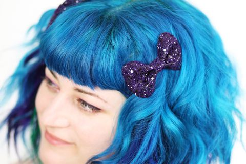 Cute,Bow,Hair,Clips,,Pair,in,Glitter,,Various,Colours,Accessories,Clip,bow_clips,kitty_bows,kawaii,glitter_bows,bow_hair_clip,hair_clips,kawaii_hair_clips,black_bows,janinebasil,hair_accessories,womens_hair_bows,hair_bows,gold_glitter