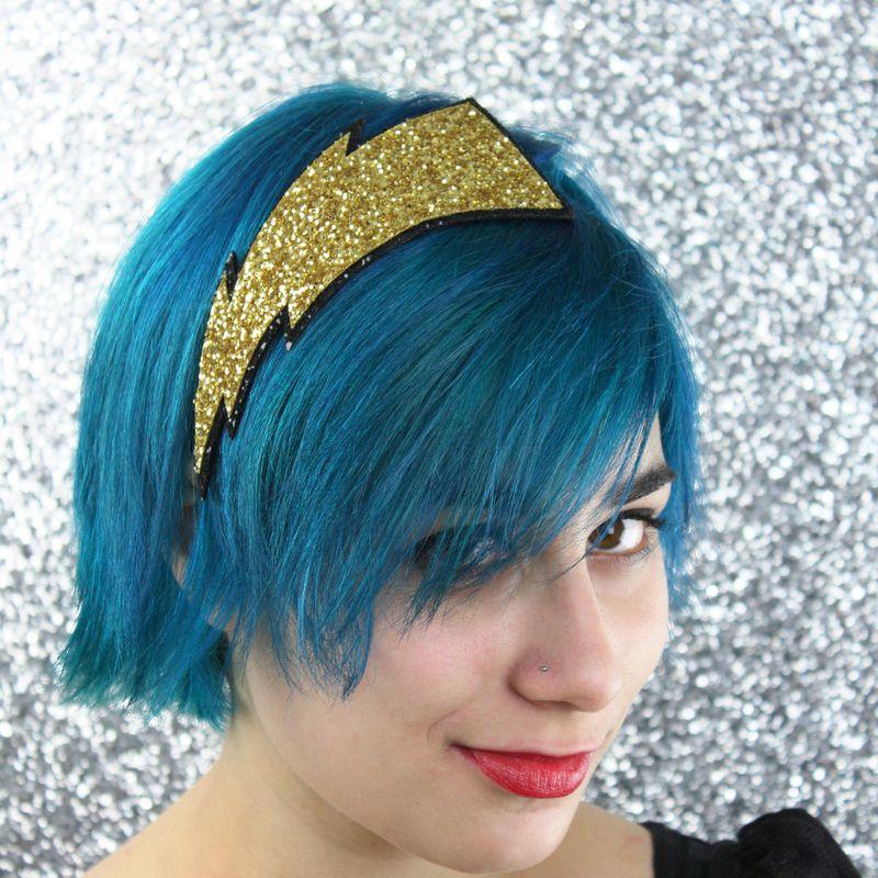 Pin Lightning Bolt Hair Design Images To Pinterest